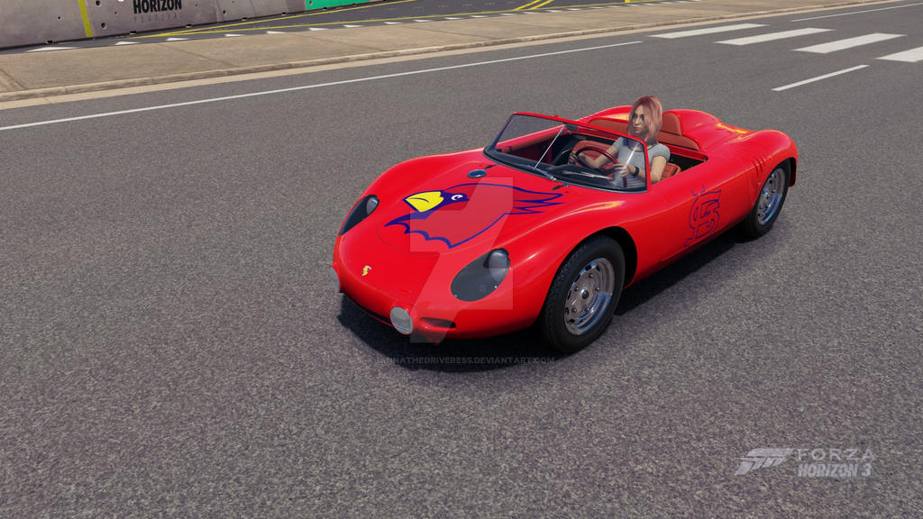 Porsche St. Louis Cardinals by iannathedriveress