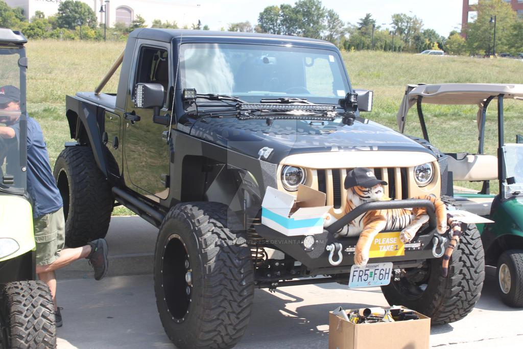 Jeep Wrangler JK Truck by iannathedriveress