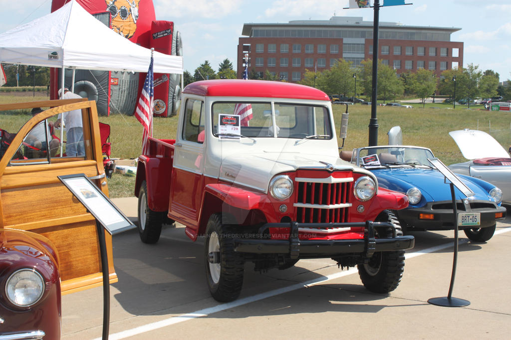 Jeep Willys Truck by iannathedriveress