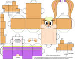 Lola Bunny Cubeecraft by Grapefruit-Face