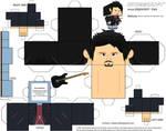 Steve Lukather Cubeecraft (V2) by Grapefruit-Face