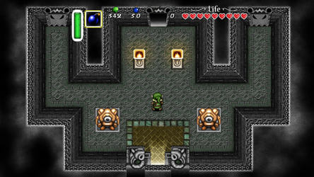 Zelda a link to the past - Dark palace Remastered by fmppires