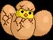 Chiken Eggs Hatching by Legendarypixel