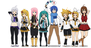 Vocaloid Kisekae exports remade!
