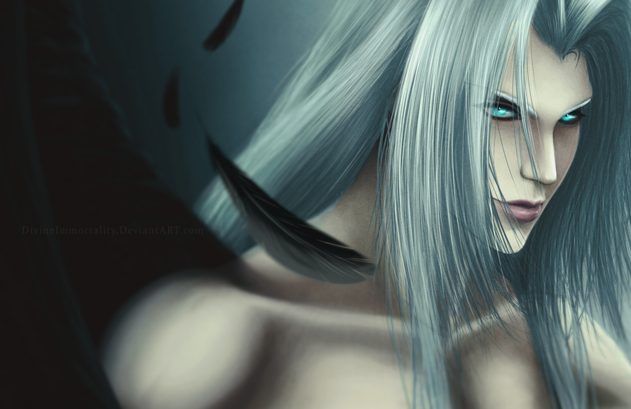 FFVII | Black Feather by DivineImmortality