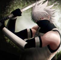 Anbu Kakashi | Naruto by DivineImmortality