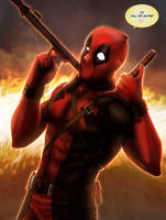 The Merc with a Mouth! | Deadpool by DivineImmortality