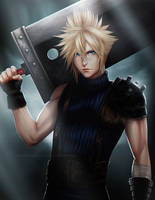 Cloud Strife   FFVII by DivineImmortality