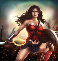 Wonder Woman | DC by DivineImmortality