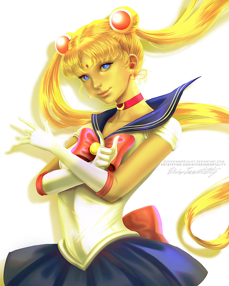 HUEvember Day 2 Sailor Moon
