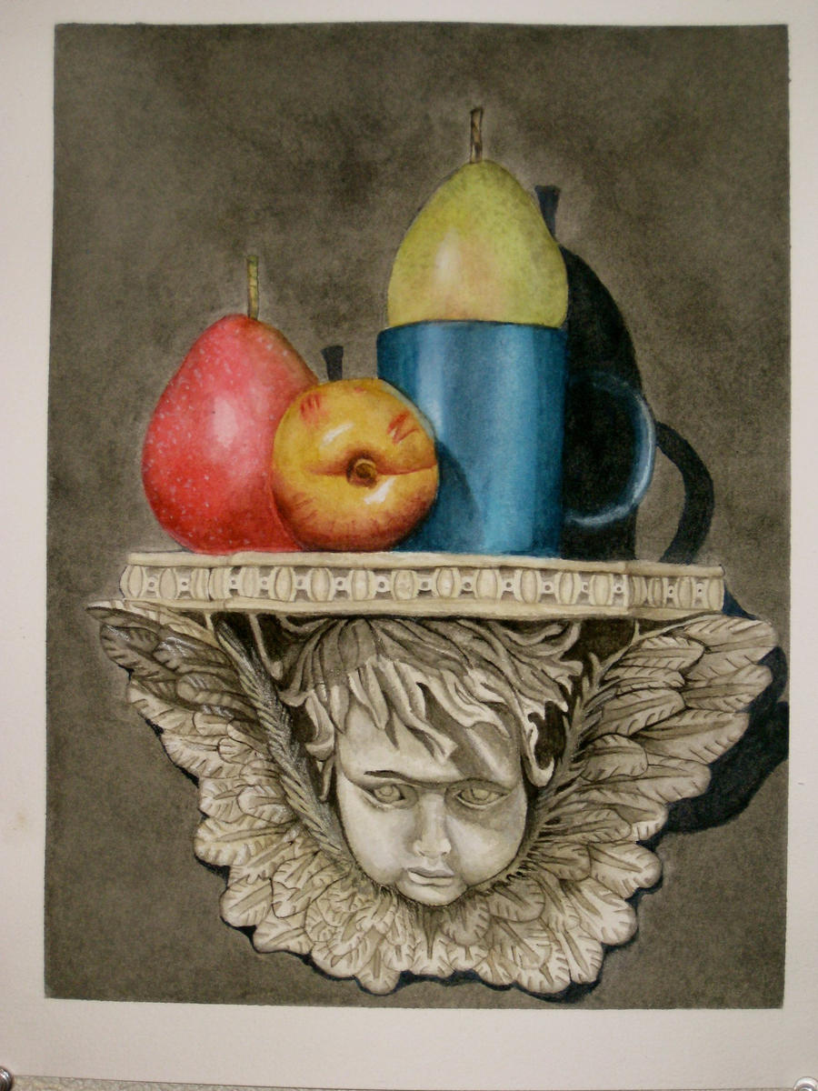 First watercolor painting ever by ecko319 on deviantart for My first watercolor painting
