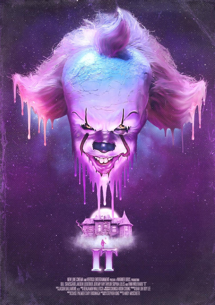 It (2017) Movie Poster by Downgraf