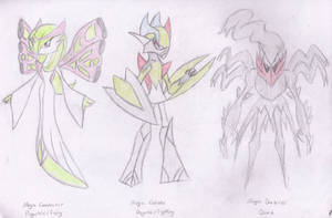 Mega Evolution Fan Ideas by Gallade95