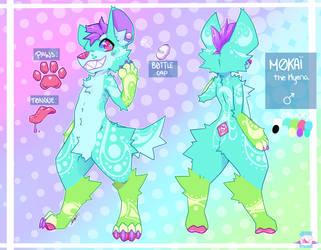 Mokai the Hyena by JinxitStudios