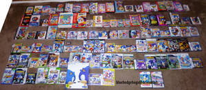 My Huge Sonic Game Collection
