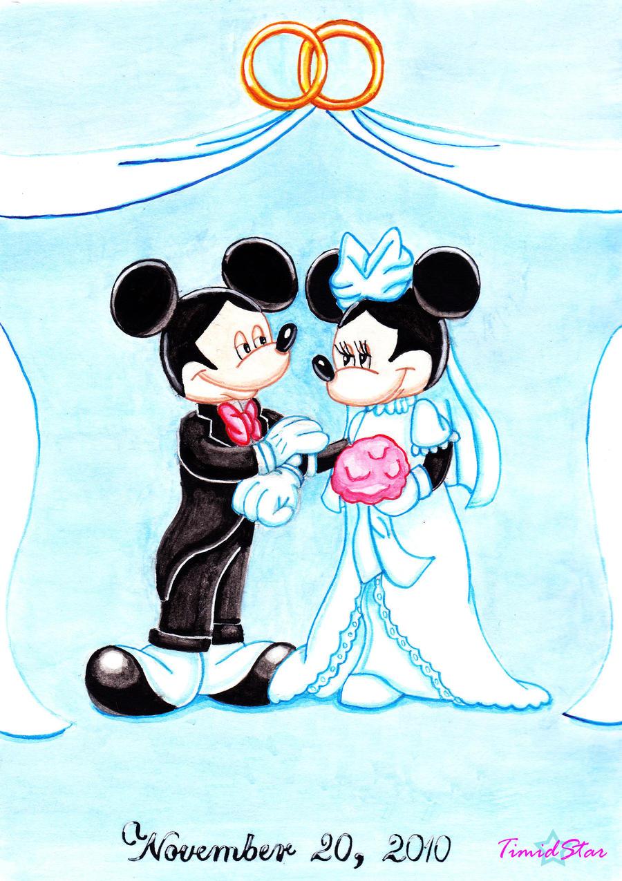 Mickey and Minnie Wedding by Creative-Dreamr on DeviantArt