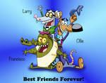 The Three Amigos - Colored