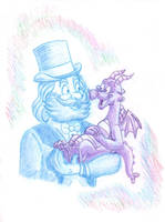 Dreamfinder and Figment by Creative-Dreamr