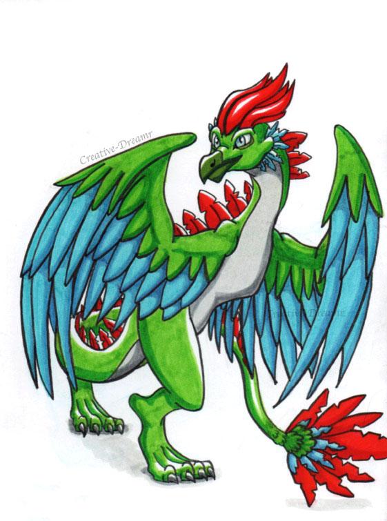 Dragon Bird by Creative-Dreamr
