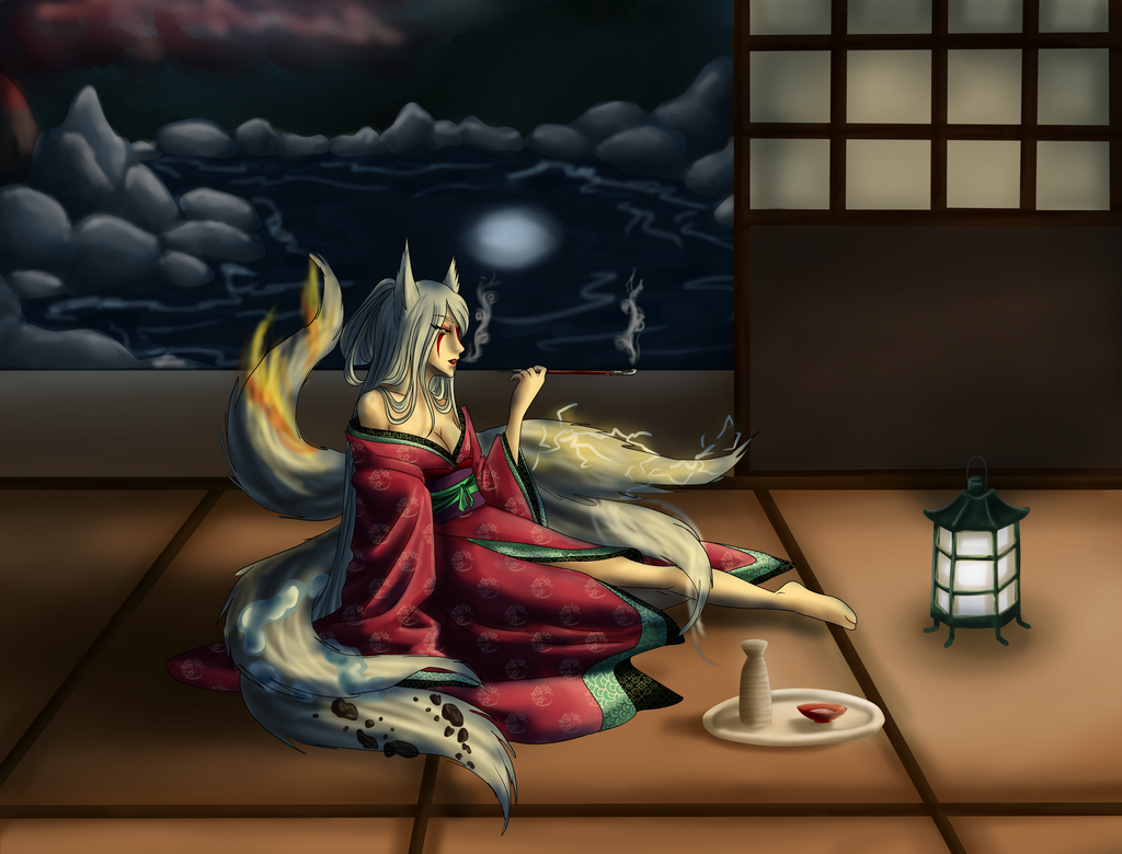 [YNY] Smoking at the Night by Seni-Ines