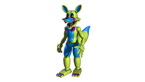 Blacklight Toy Foxy Tail Edit