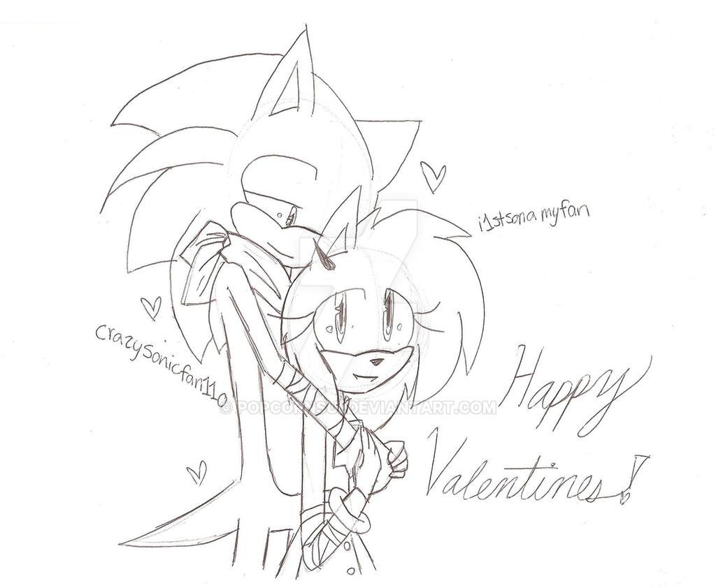 Happy Valentines Day Everyone! ^^ by PopcornSui