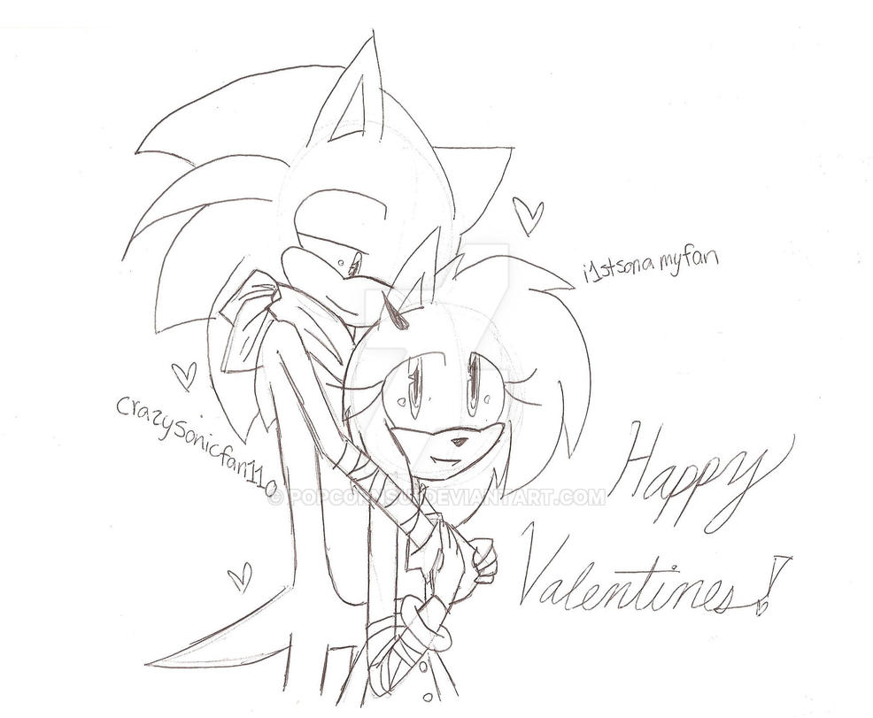 Happy Valentines Day Everyone! ^^ by i1stsonamyfan