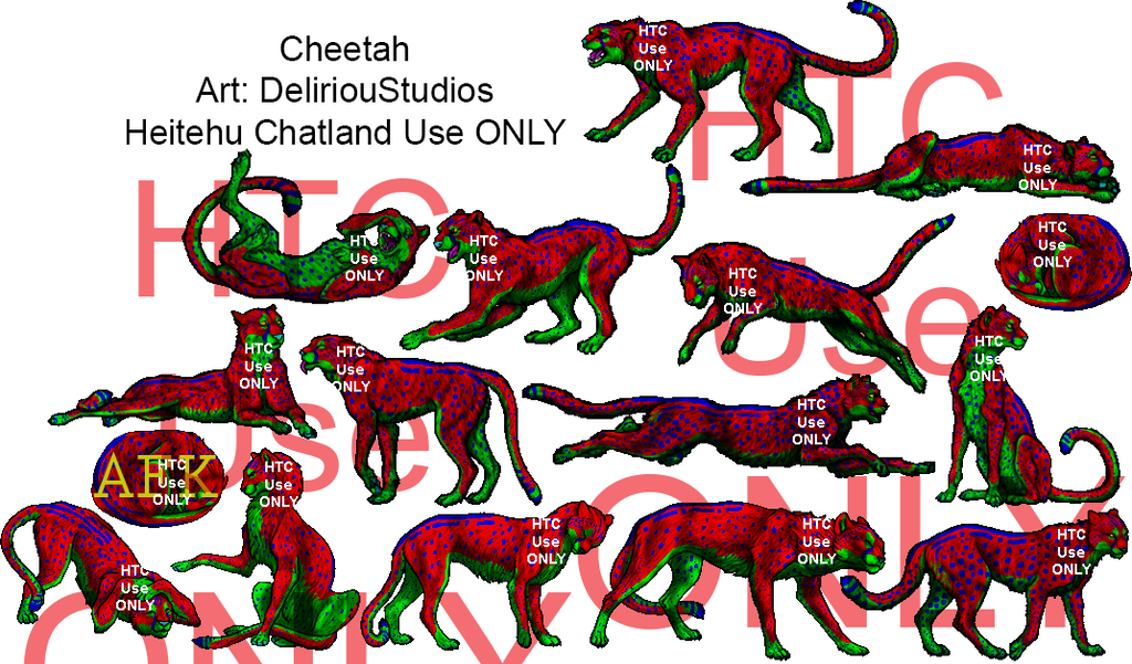 HTC Pose sets. Cheetah_all_by_fezsinner-dbifjo2