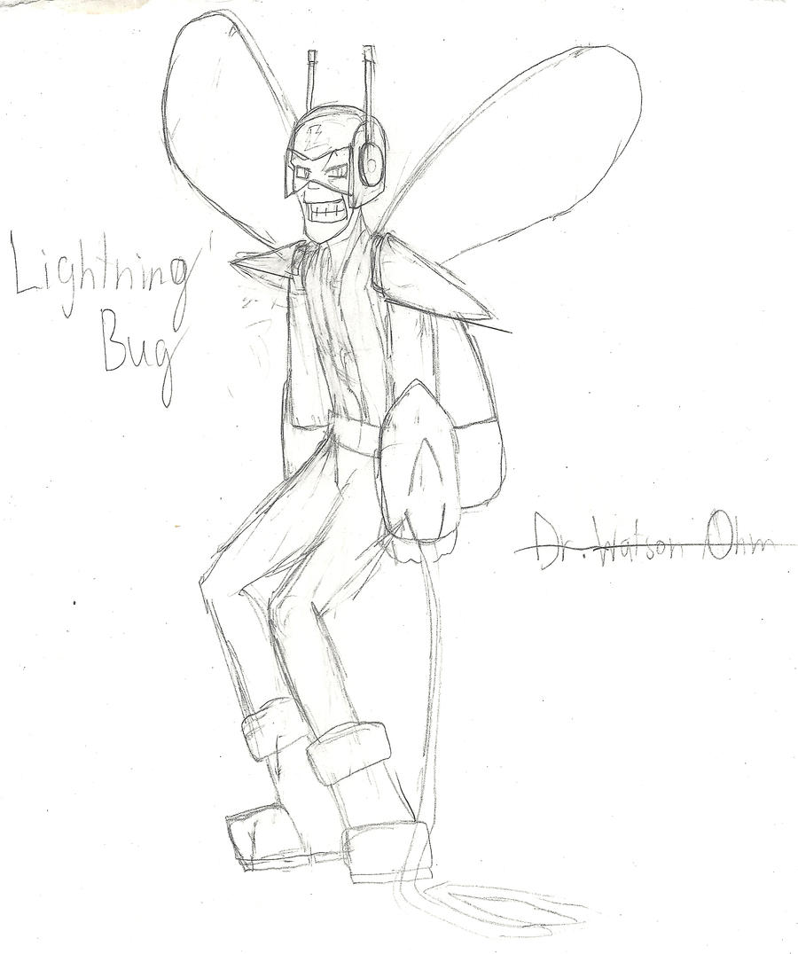 Concept: Lightning Bug by AC-Drawings on DeviantArt