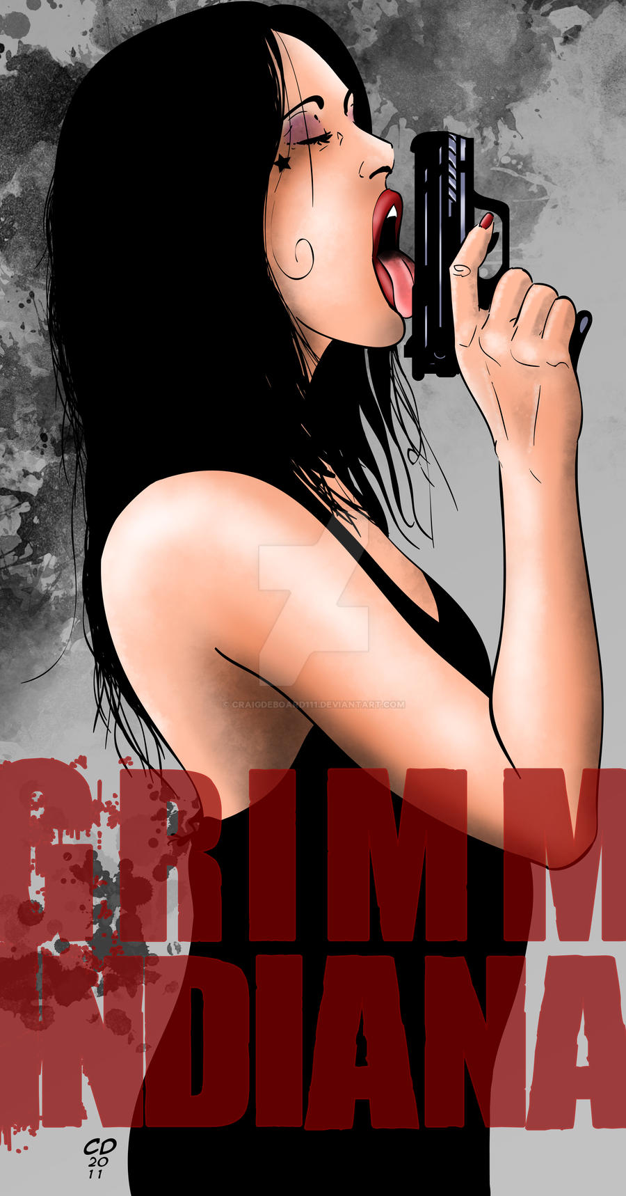 Grimm, Indiana-Sex n' Violence by craigdeboard111