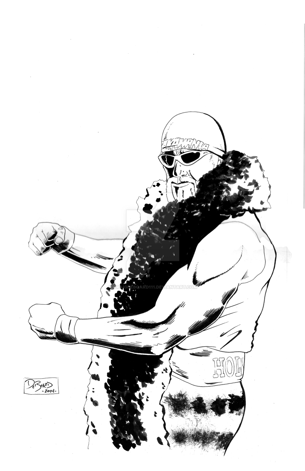 WWE Hulk Hogan By Craigdeboard111
