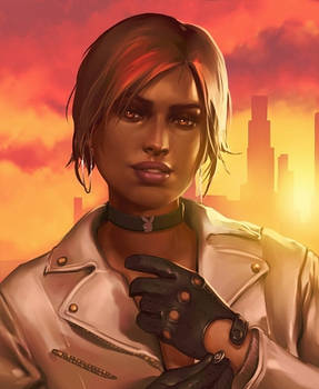 GTA V Online Character-Portrait