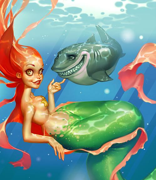 Mermaid by Grobi-Grafik