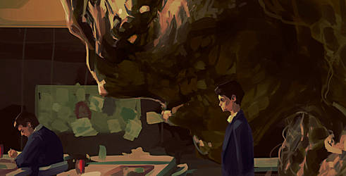 A Monster Calls by Grobi-Grafik