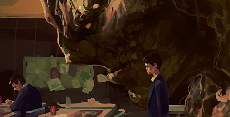 A Monster Calls by Grobi-Grafik