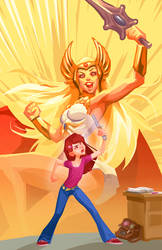 She-Ra by Grobi-Grafik