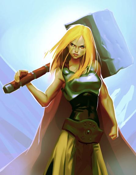 Mighty Thor by Grobi-Grafik