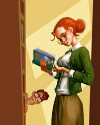 Librarian by Grobi-Grafik