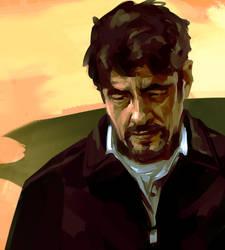 Benicio Del Toro by Grobi-Grafik