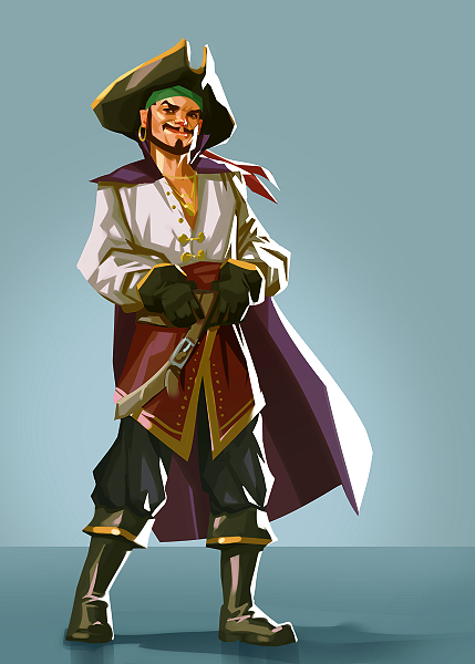 Pirate by Grobi-Grafik