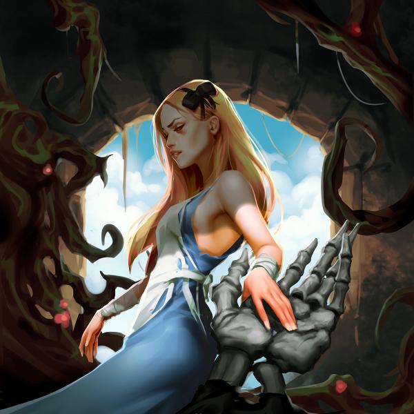Alice in Wonderland by Grobi-Grafik