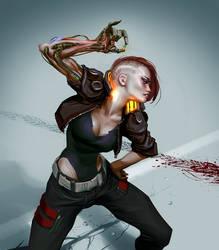 Cyberpunk 2077 by Grobi-Grafik