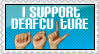 ISupportDeafCulture ::STAMP:: by colorgraffiti