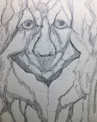 The Face in the Tree