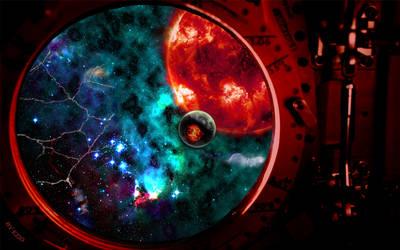 Universe - Escaping 2010 by ezio