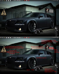 Parking 2011 - Crysler 300c by ezio