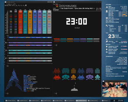 Arch Linux + Openbox [May, 2012]