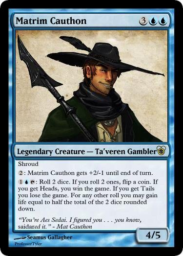 Mtg Matrim Cauthon By Professortyler On Deviantart
