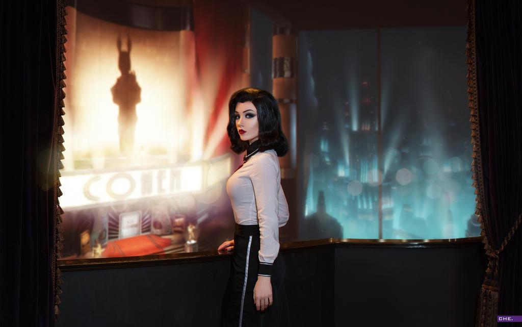 Elizabeth (Bioshock Infinite DLC) by Luna by Lunaritie