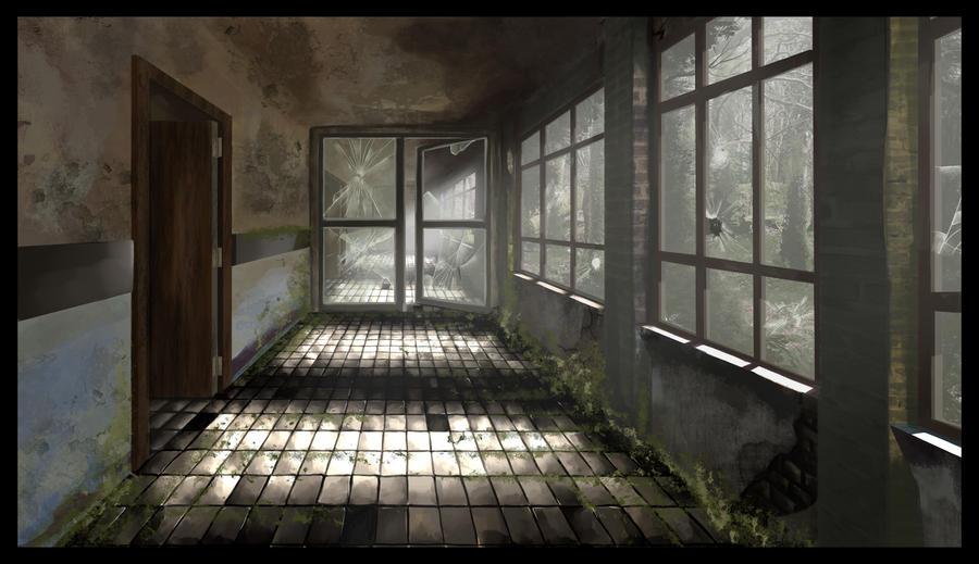 Corridor by emire-gull
